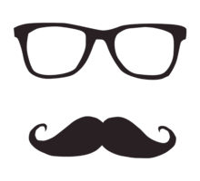 Drawn spectacles hipster Panda Glasses Hipster Images Free