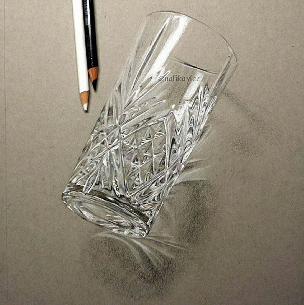Drawn glasses realistic On Drawings images 312 Realistic