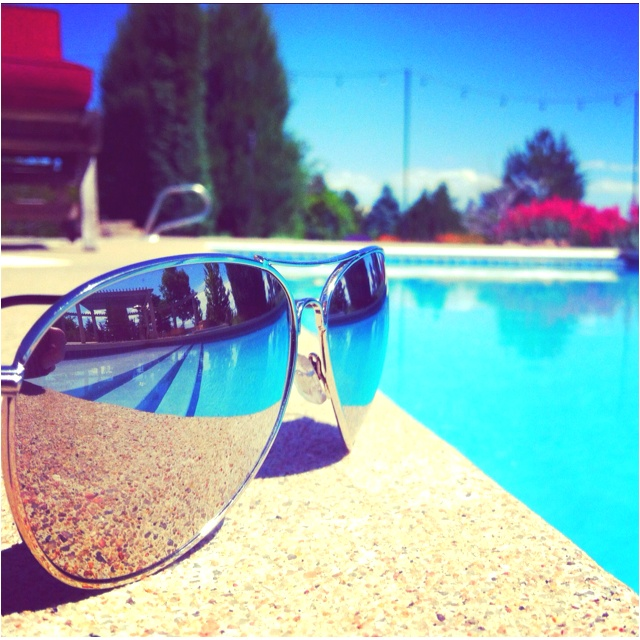 Drawn spectacles mirror reflection  on lens the Pinterest