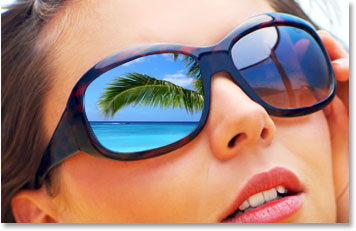 Drawn spectacles mirror reflection Adobe Sunglasses Reflections effects Photoshop