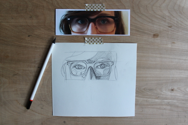 Drawn goggles pencil shading Drawing to of How a