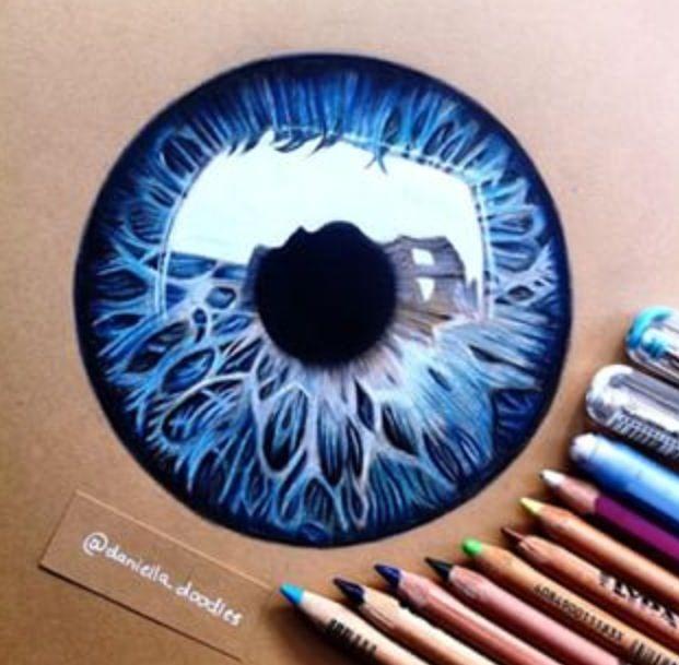 Drawn goggles pencil shading ♡ DrawingsColored · EyesEye Ideas