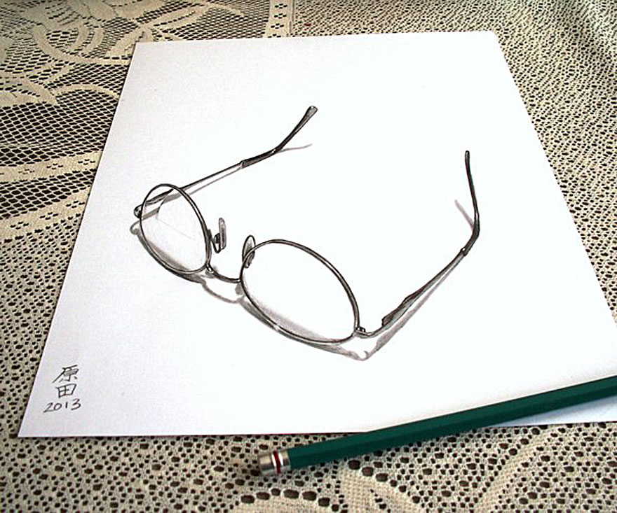 Drawn goggles pencil shading 8 Best 30 The 3D