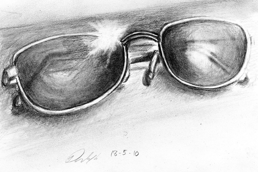 Drawn glasses realistic To glasses Ban Glasses How