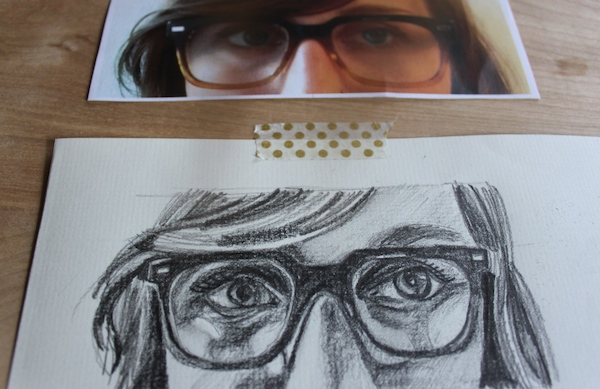 Drawn glasses realistic On Draw Eyeglasses How Finished