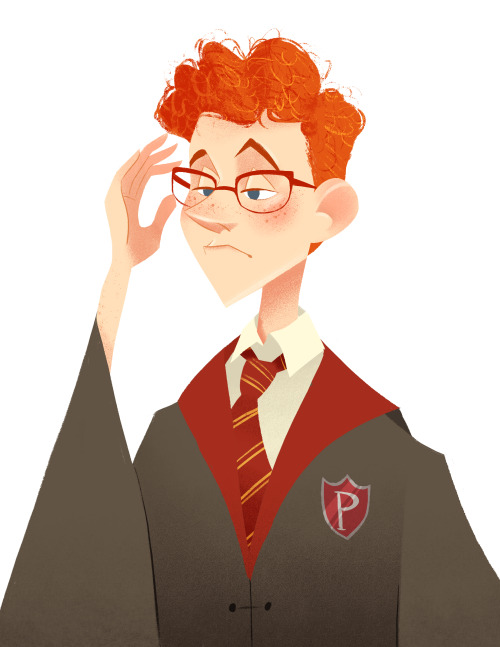 Drawn glasses percy weasley Breakfast Starhorse Weasley Percy Cat
