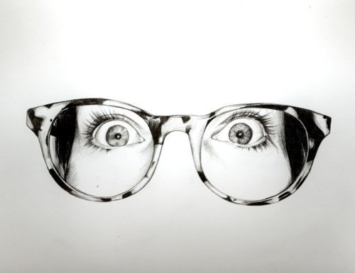 Drawn goggles realistic // glasses Pinterest Artsy Drawings