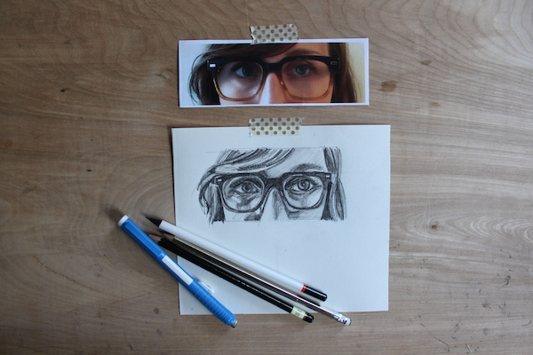 Drawn goggles realistic To Finished on a How
