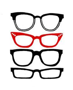 Drawn goggles retro Lino (red) Pinterest Retro Andresi