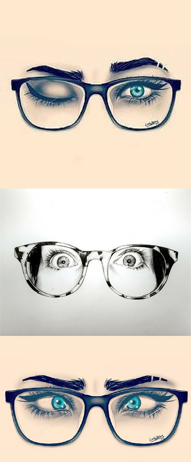 Drawn goggles water art Best Find Pinterest eye images