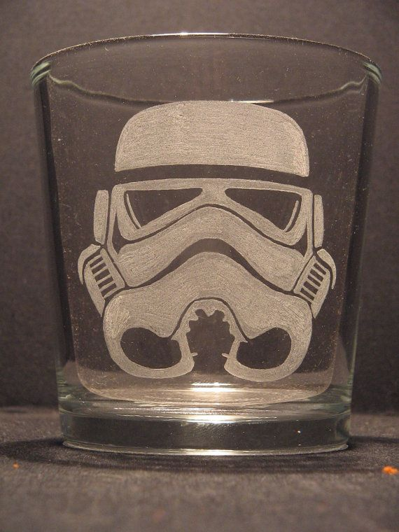 Drawn goggles whisky glass Whiskey Storm YOUR Glass STYLE