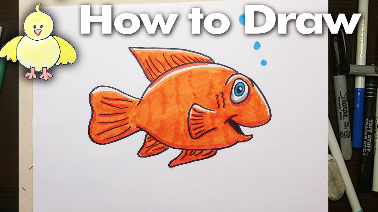 Drawn goldfish rubber To an How YouTube Cartoon