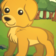 Drawn golden retriever chibi Draw Activities for a Information