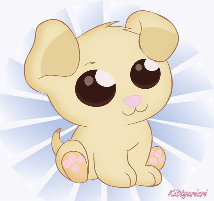 Drawn golden retriever chibi Chibi dog by deviantart Dog