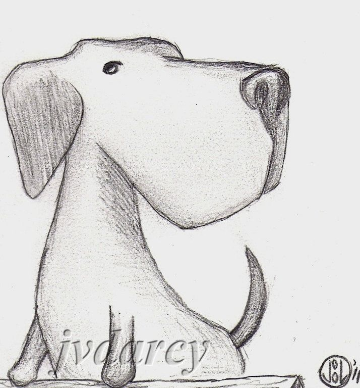 Drawn pencil cartoon 25+ Small of dogs Drawings