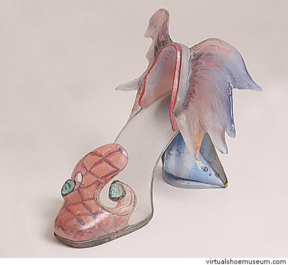 Drawn goldfish shoe Goldfish shoe Goldfish com virtualshoemuseum