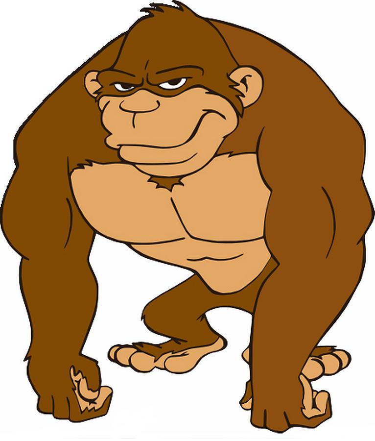Drawn gorilla Michael Gorilla Pulido Pulido Michael