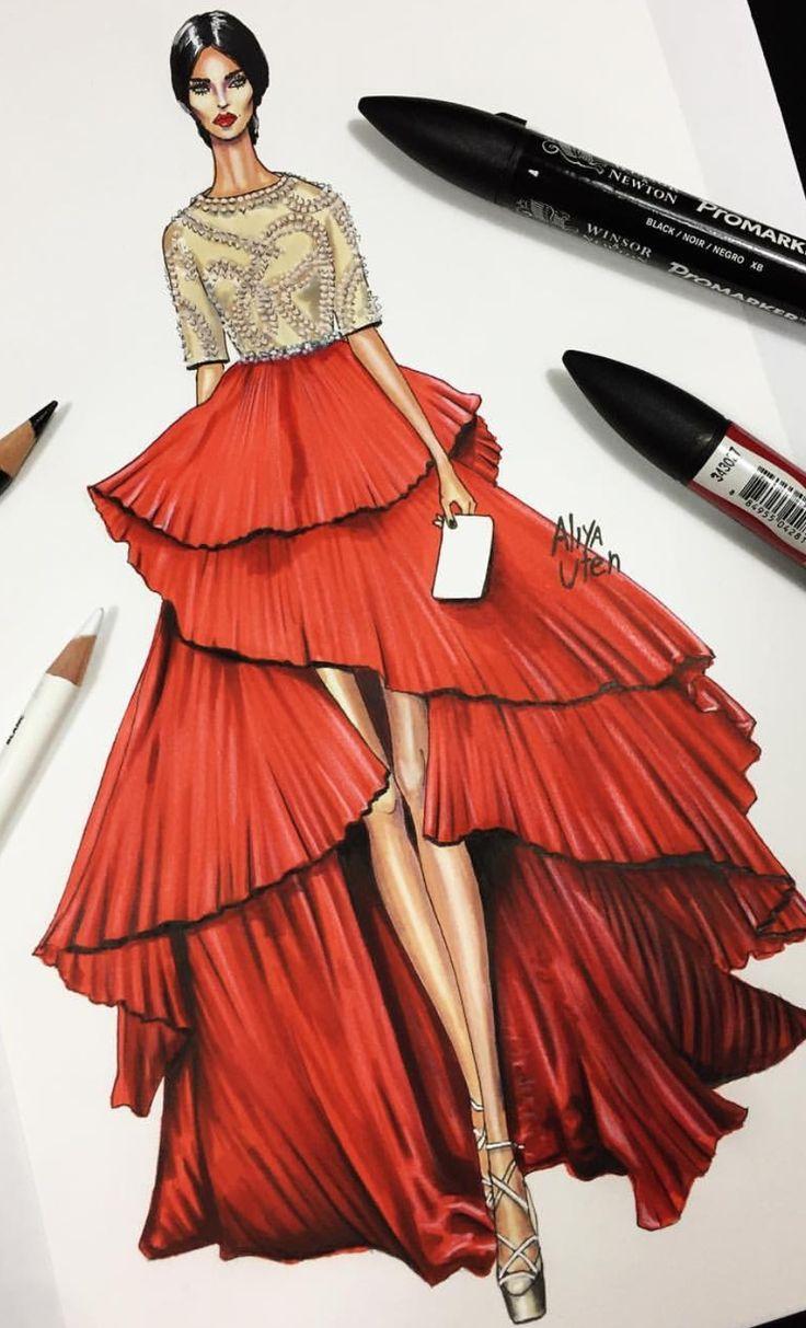 Drawn tears fashion model En illustrations espiral ideas Pinterest