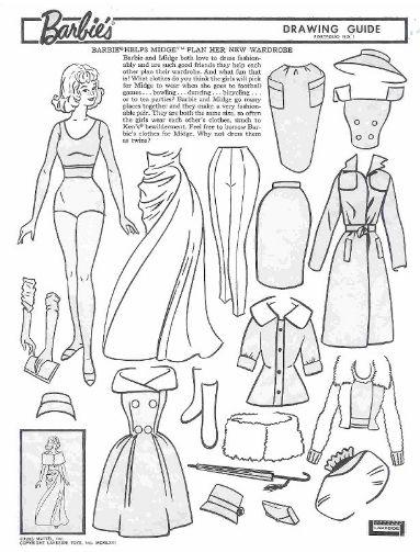 Drawn barbie gown Vintage best images Miss Drawing