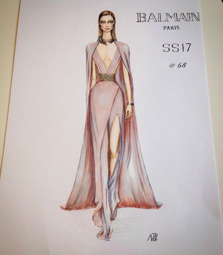 Drawn tears fashion model 25+ Pinterest best Dress Illustration