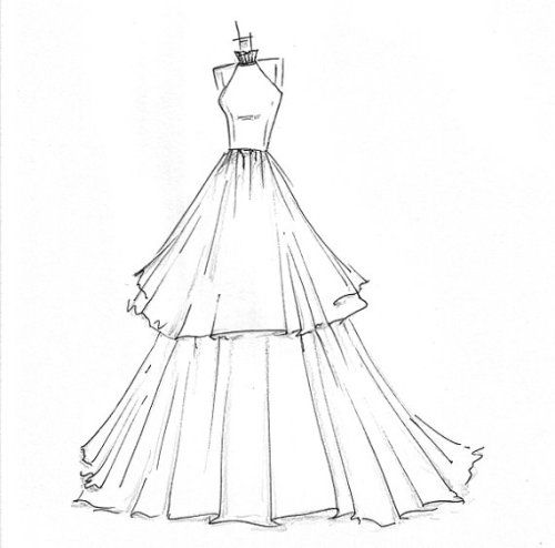Drawn costume frock Ideas drawing Pinterest sketches on