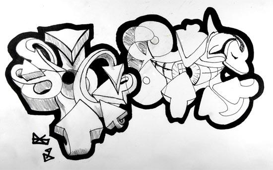 Drawn graffiti Draw of to Com draw