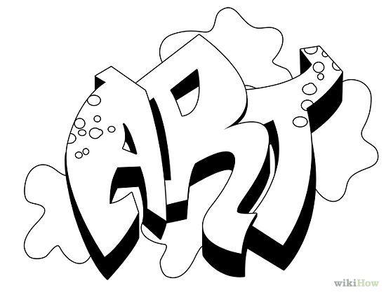 Drawn graffiti Graffiti draw graffiti How wikiHow