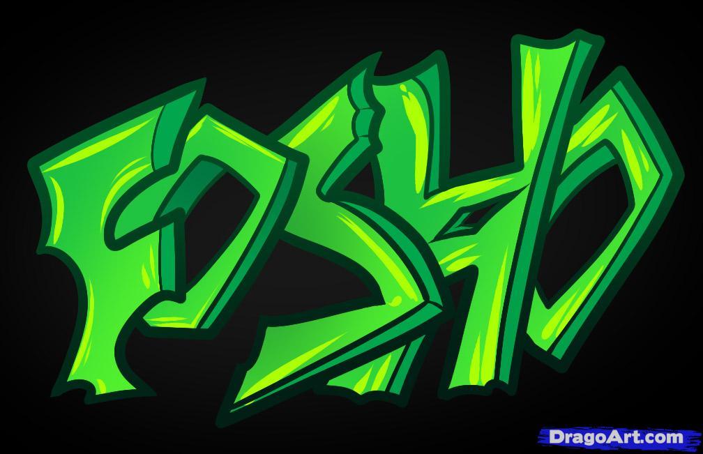 Drawn graffiti Culture for Kids Step Graffiti