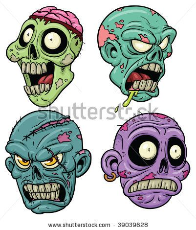 Zombie clipart easy All zombie Pinterest editing 14