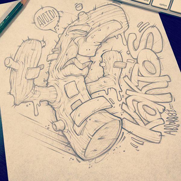 Drawn randome graffiti Graffiti on this Pinterest and