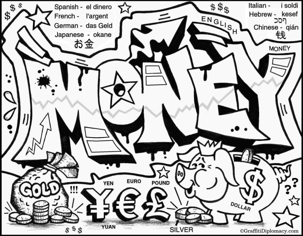 Drawn graffiti word #2