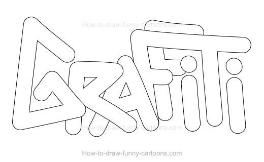 Drawn graffiti word #3