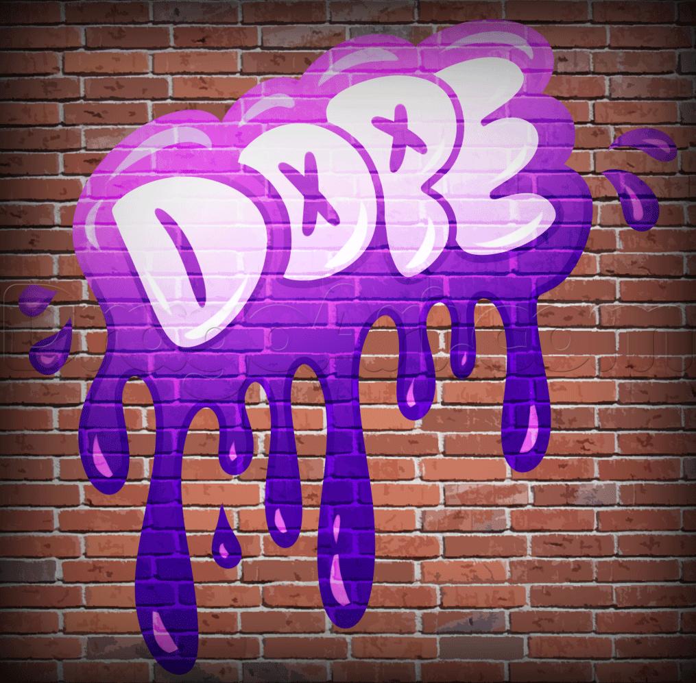 Drawn graffiti word #4