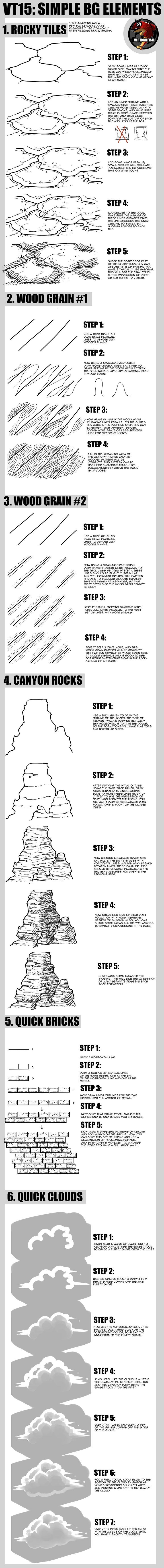 Drawn grain simple Tutorial Create Pinterest Simple Simple