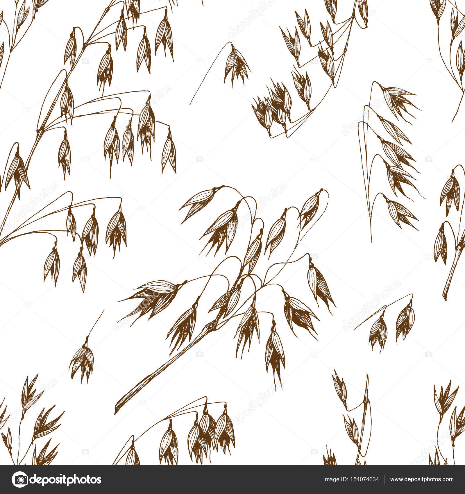 Drawn grain vintage Background vintage vector hand sketch