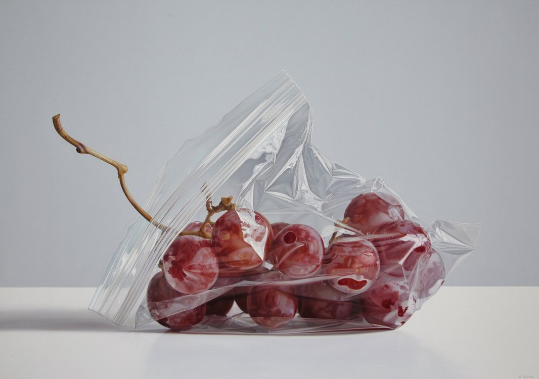 Drawn grapes realistic DeviantArt two grapes Cold by