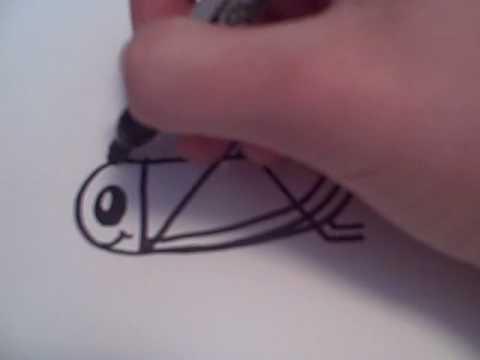 Drawn grasshopper Drawn Bird YouTube Draw Cartoon How Grasshopper