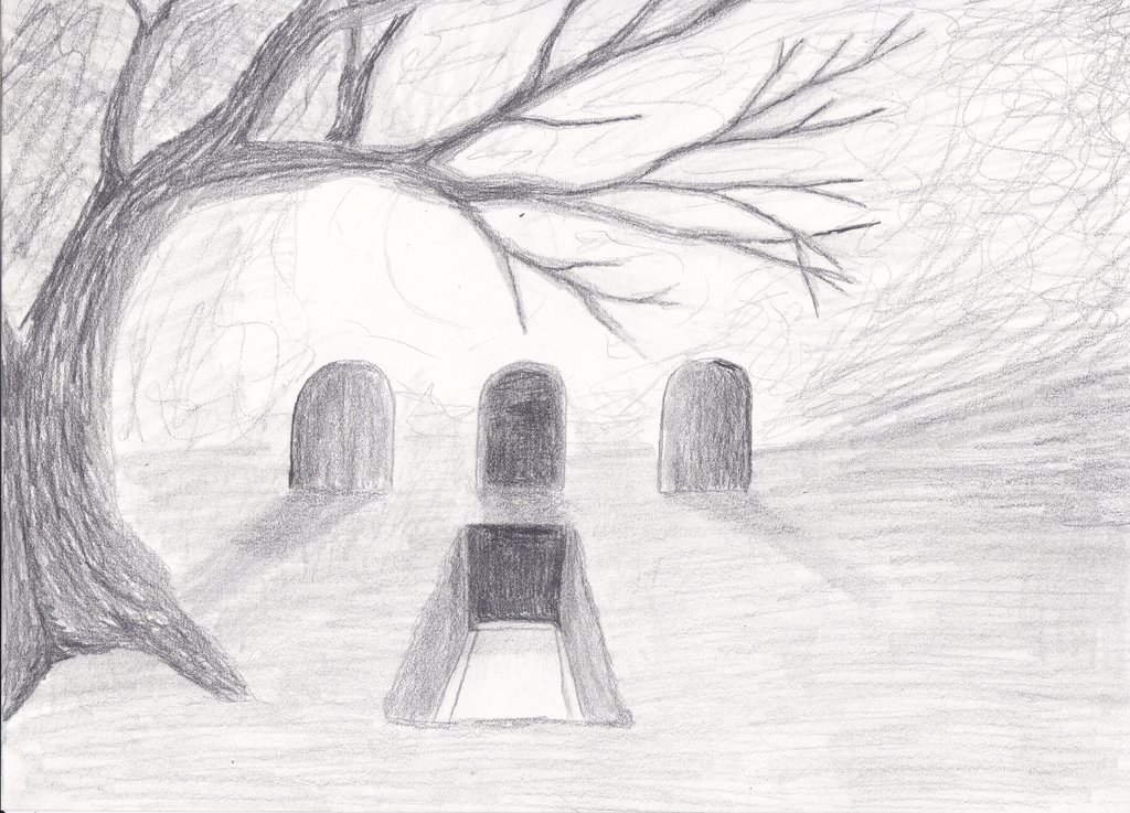 Drawn graveyard #6
