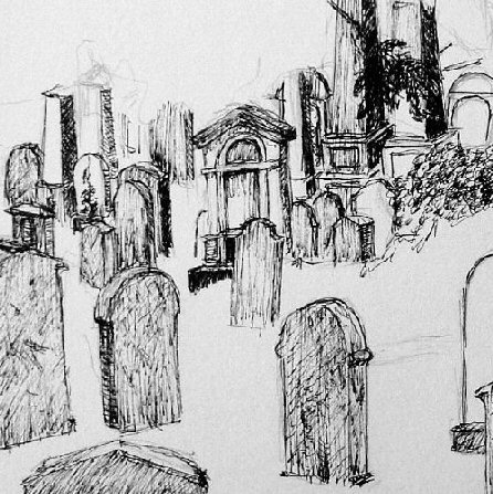 Drawn graveyard #9
