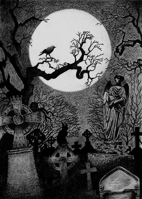 Drawn graveyard #14