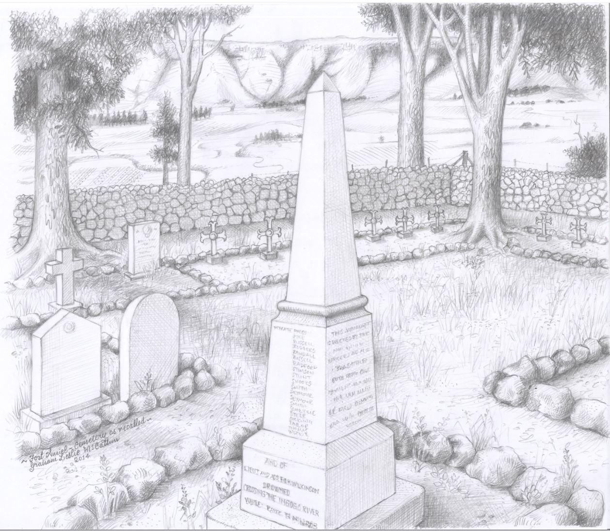 Drawn graveyard #7