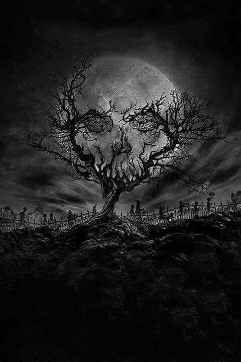 Drawn graveyard black Tattoo Branch Pinterest reaper on