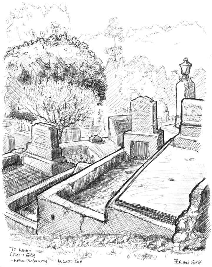 Drawn headstone vector Cemetery Sketchy the in the