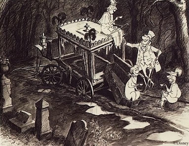 Drawn graveyard death Long depictions Death in that