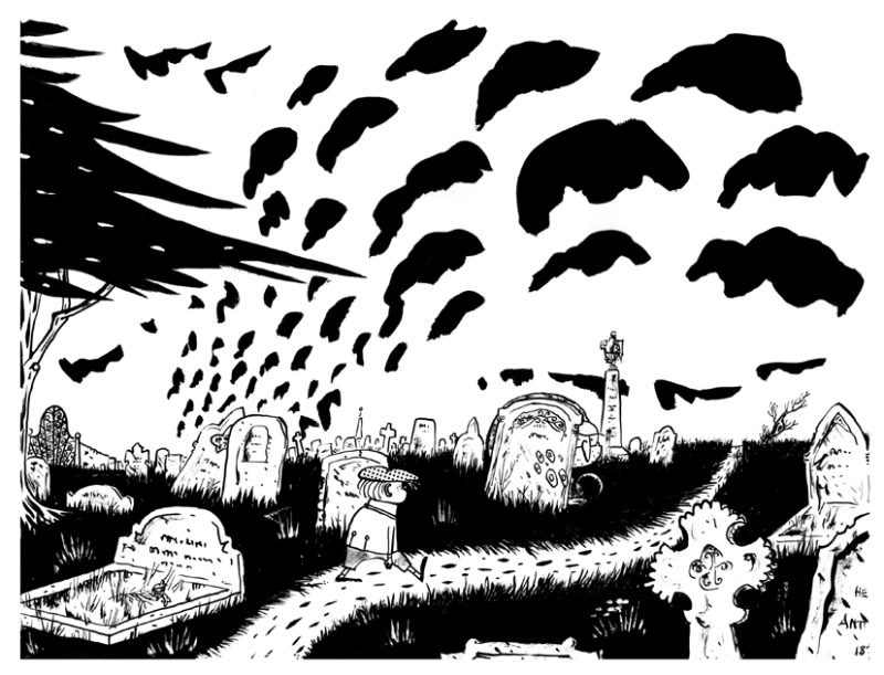 Drawn graveyard great expectation Pretty it's sort know again