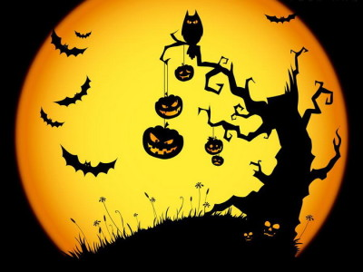 Drawn graveyard halloween  Halloween Horror Tattoo parties