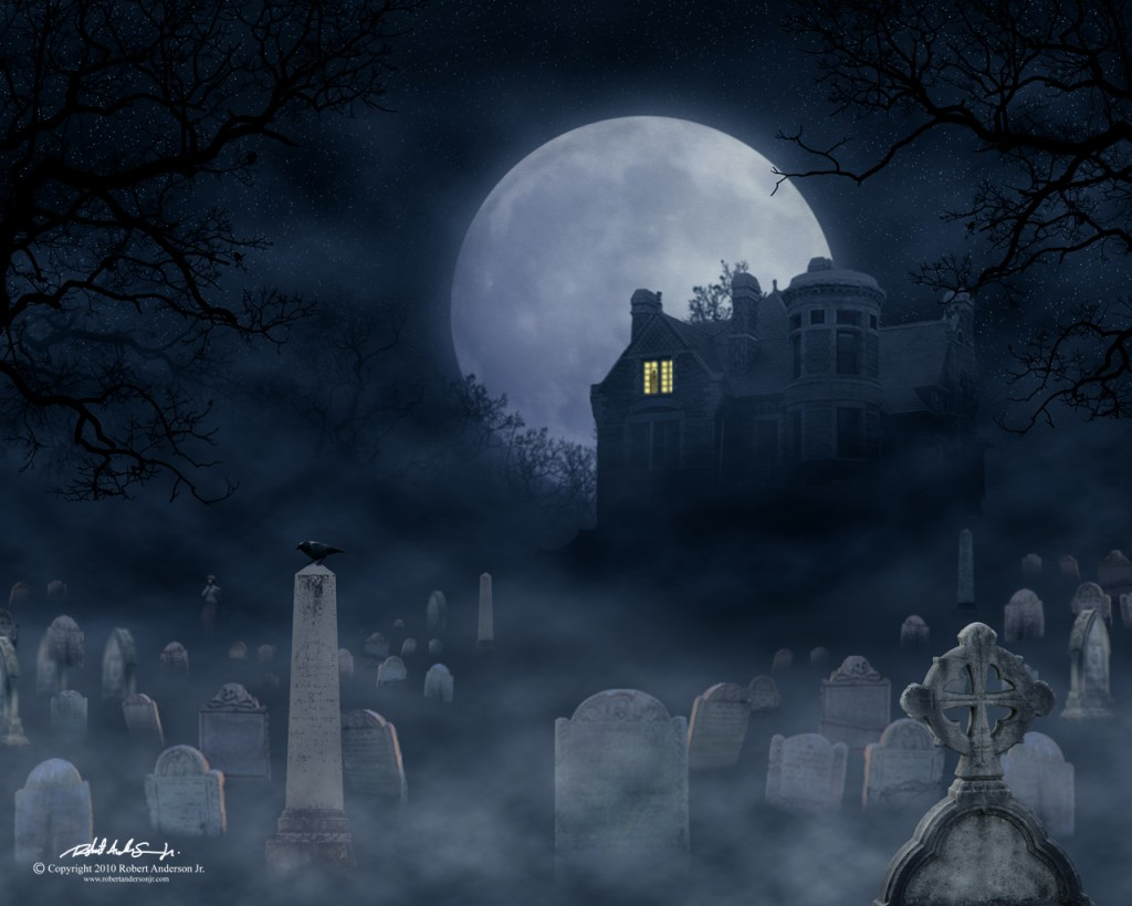 Drawn haunted house hounted Anderson Creative by Haunted Robert