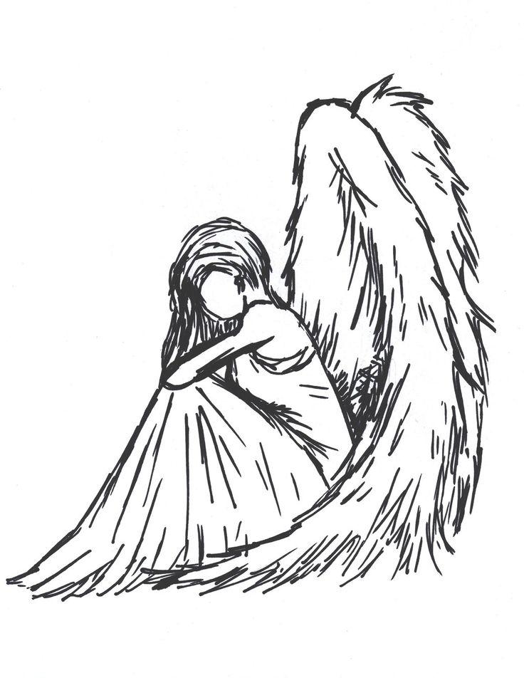 Drawn sad angel And Sioban deviantart on 20+