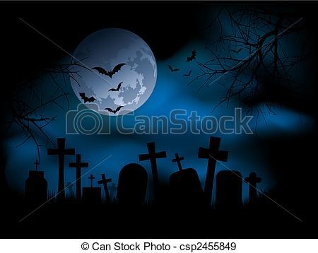 Drawn graveyard spooky graveyard Search  at Vectors Spooky