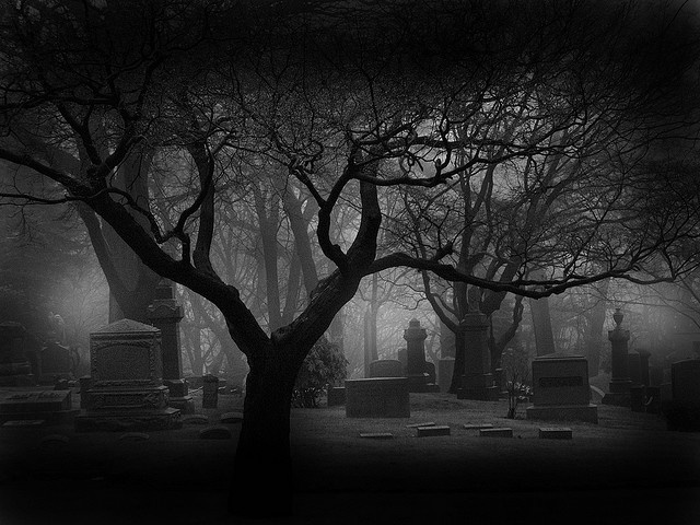 Drawn graveyard spooky graveyard Albums on images via spooky